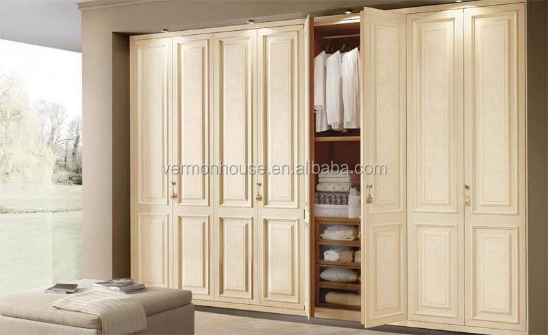מאוד מחיר נמוך דלת הזזה ארון עץ עיצובים קיר חדר שינה-ארונות-מספר זיהוי WH-89