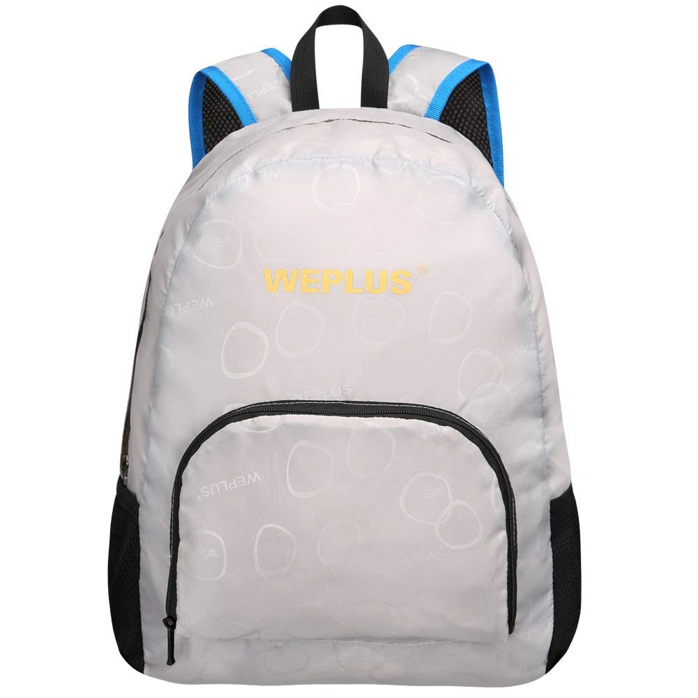 dc0de9348fc2 Get Quotations · WEPLUS Small Lightweight Packable Daypack Hiking Travel Foldable  Backpack for Women Tee Girls Boys Kids