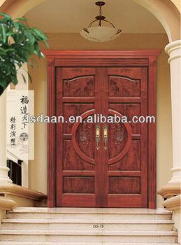India Main Door Design Exterior Wooden