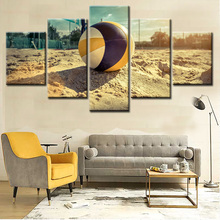 Famous modern 5panels wall art prints digital photo canvas prints pictures art from custom photos