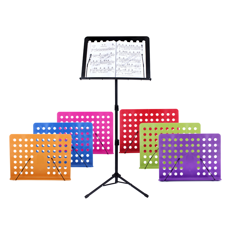 ENO adjustable and folding plastic music book stand music sheet stand