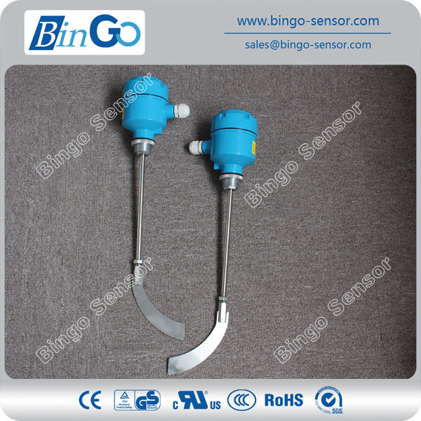 Bin bulk sickle type rotary Paddle Level Switch