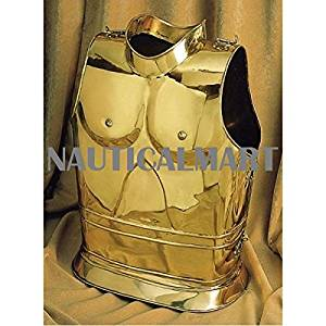 Medieval LARP Muscle Cuirass Breastplate By Nauticalmart