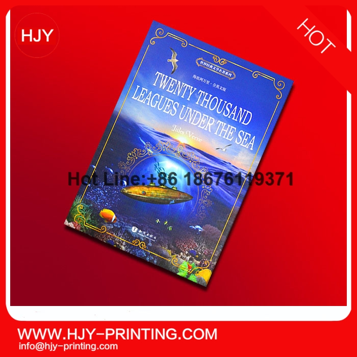Hardcover book from book printing with DVD/CD/VCD