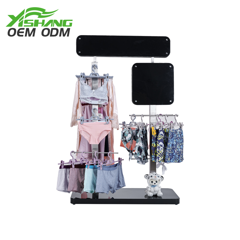 Excellent quality lingerie store stand clothing display racks