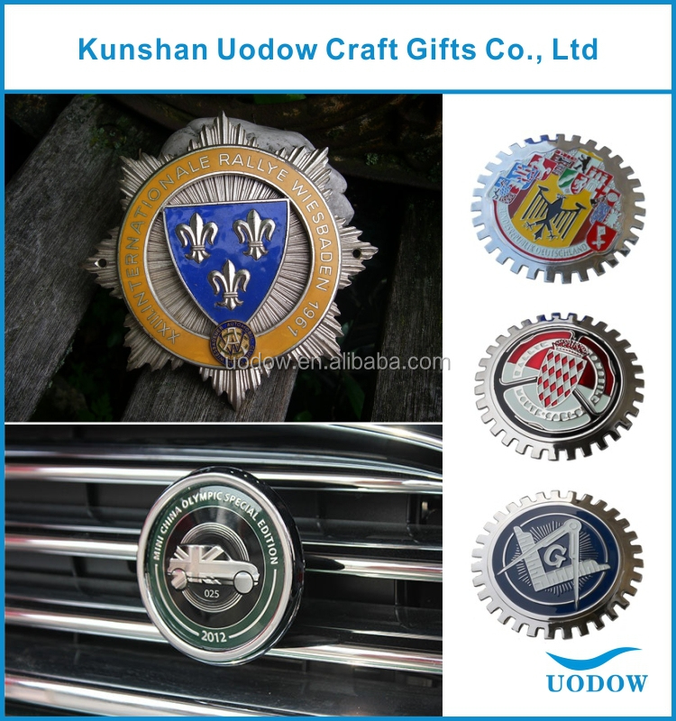 car grille emblem badges