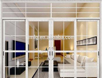 Modern Design Heat Insulated Living Room Door With Double Glass