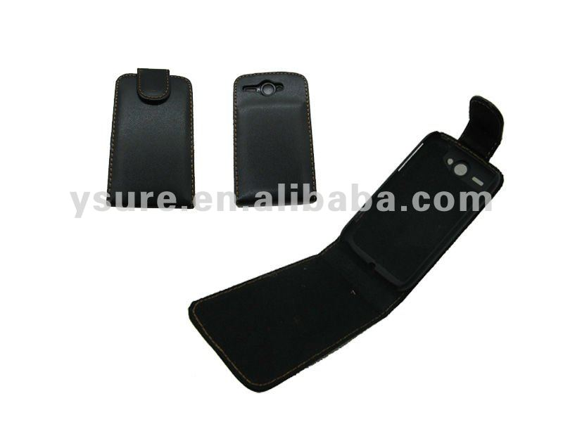 mobile phone accessory flip case for HTC G8 Wildfire