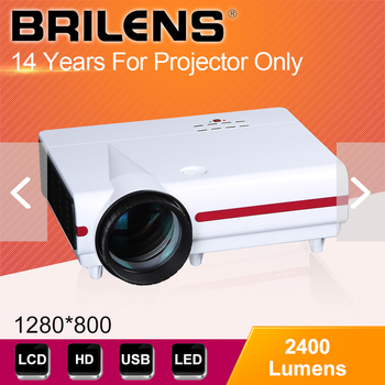 resolution 1280x768 lcd 3d led dlp projector for android from china supplier