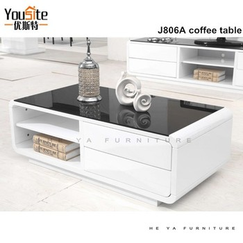 Salontafels Modern Design.Modern Design Fiber Glass Coffee Table With High Gloss Painting