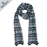 High quality spring winter fashion lovely scarf pattern