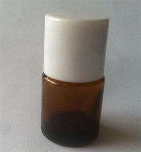 REAGENT BOTTLE, amber glass, with GL45 thread and screw cap