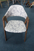 A026 Wholesale upholstery wooden dining chair scandinavian furniture