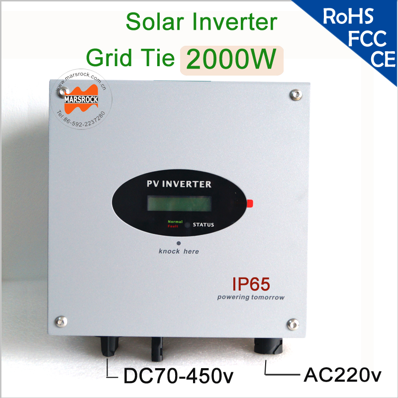 2000W 220v on grid solar string inverter with RS485, RS232 interface for <strong>communication</strong>, internal DC switch for European, Aisa