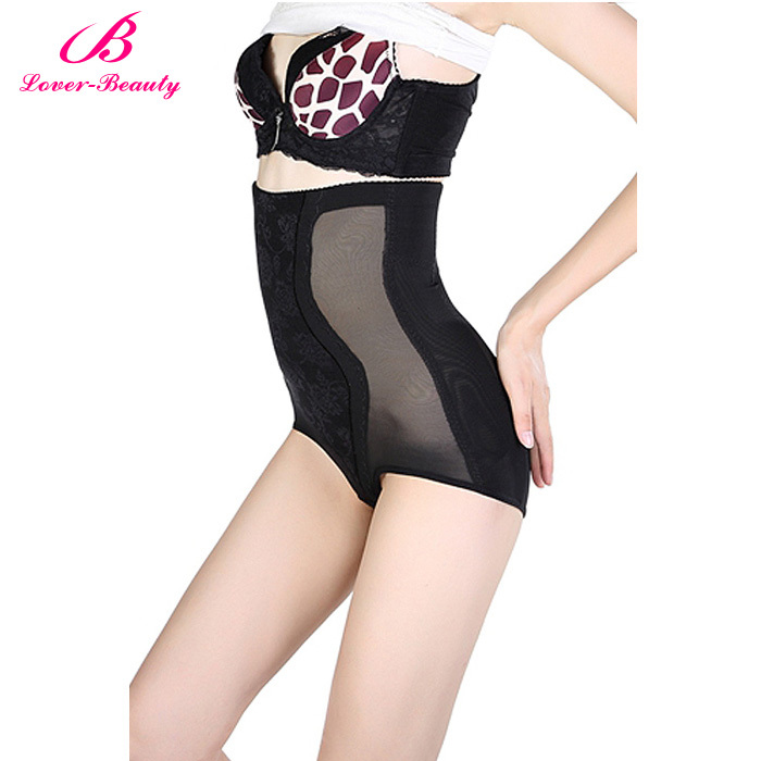 2015 Sexy Women Hot Shapers Control Panties Plus Size Panty Stretch Slimming Pants Body Shaper Black High Waist Butt Lift Shaper
