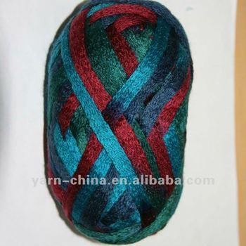 Acrylic Tape Fancy Hand Knitting Yarn
