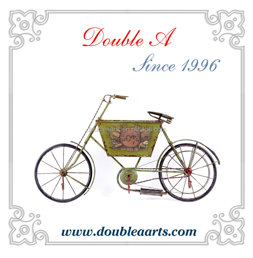 Unique design metal bicycle model wall hanging handmaded iron crafts for home decor handicrafts collection