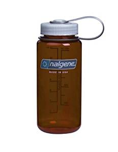 b7abafc1e Get Quotations · Nalgene Translucent Wide Mouth Bottle With Blue Lid by  Nalgene