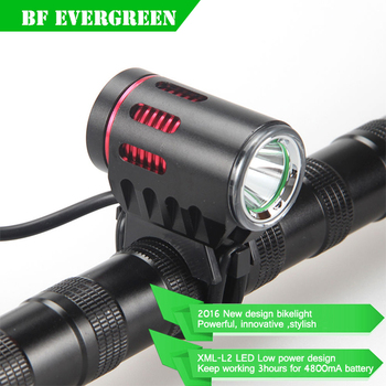 Super Bright Front Bike Light CREE XM-L2 LED Rechargeable Bicycle Headlight