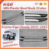 ABS Roof Rails for vigo champ 2015 roof rack abs for toyota vigo champ roof Luggage rack for toyota hilux vigo