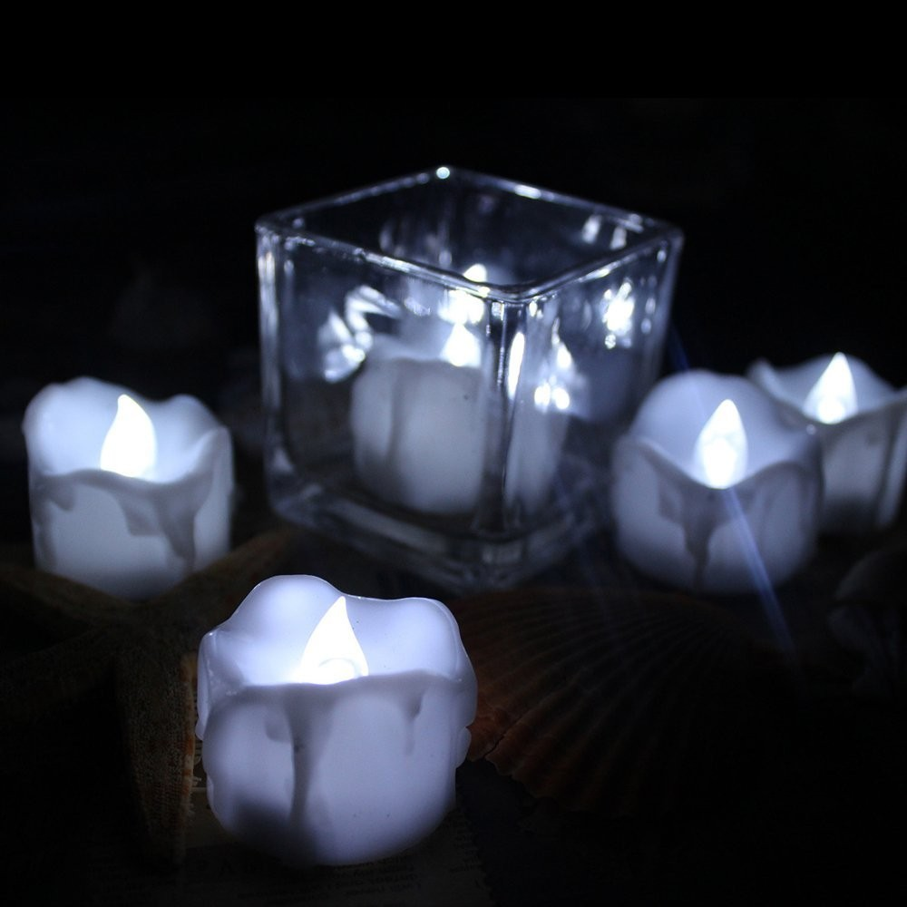 Newest LED Candle &Mini Plastic Flameless Led Tea Light Candle