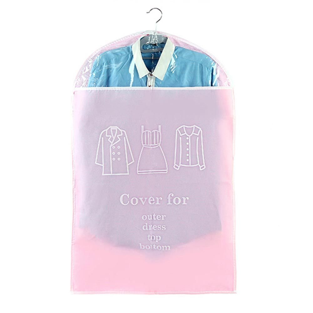 Yooan Women's Clothes Suit Dress Outer Garment Bag Anti-dust Dustproof Storage Cover Bag,Breathable Non-woven Fabric Garment Bags