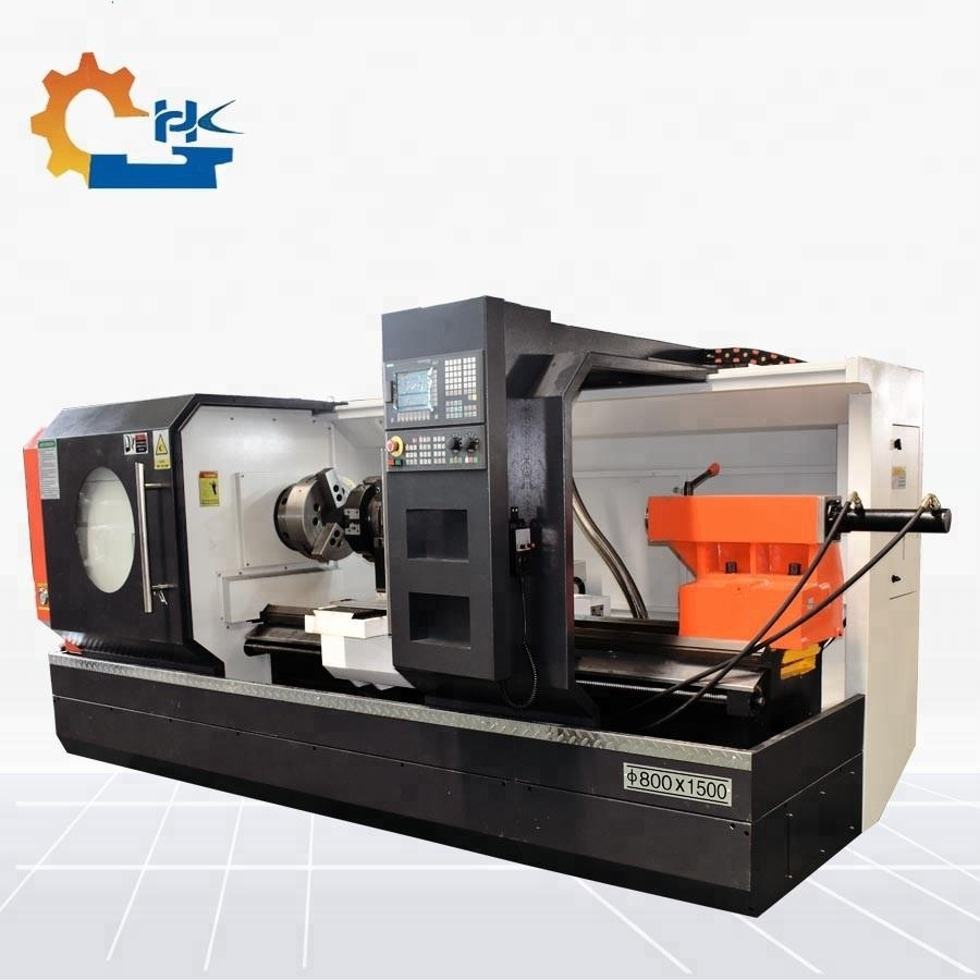 China Cnc Lathe Machine for Metal Bar Peeling CKNC6180