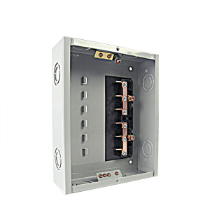METO 100amp 6 way outdoor residential electrical mcb panel board distribution box sizes