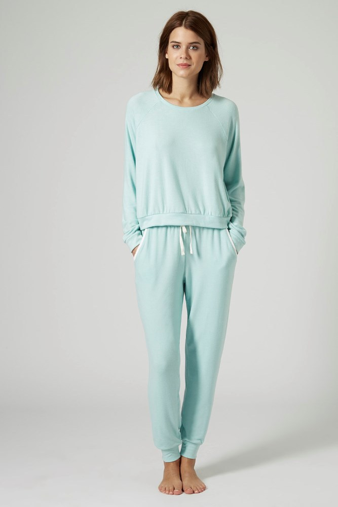 Sky Blue Pajamas