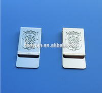promotional UAE National Day man's Gold & Silver Money Clip
