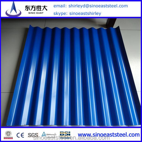 Hot!! Chinese Mill Supply Standard Zinc Prepainte Roof Sheet Price ...