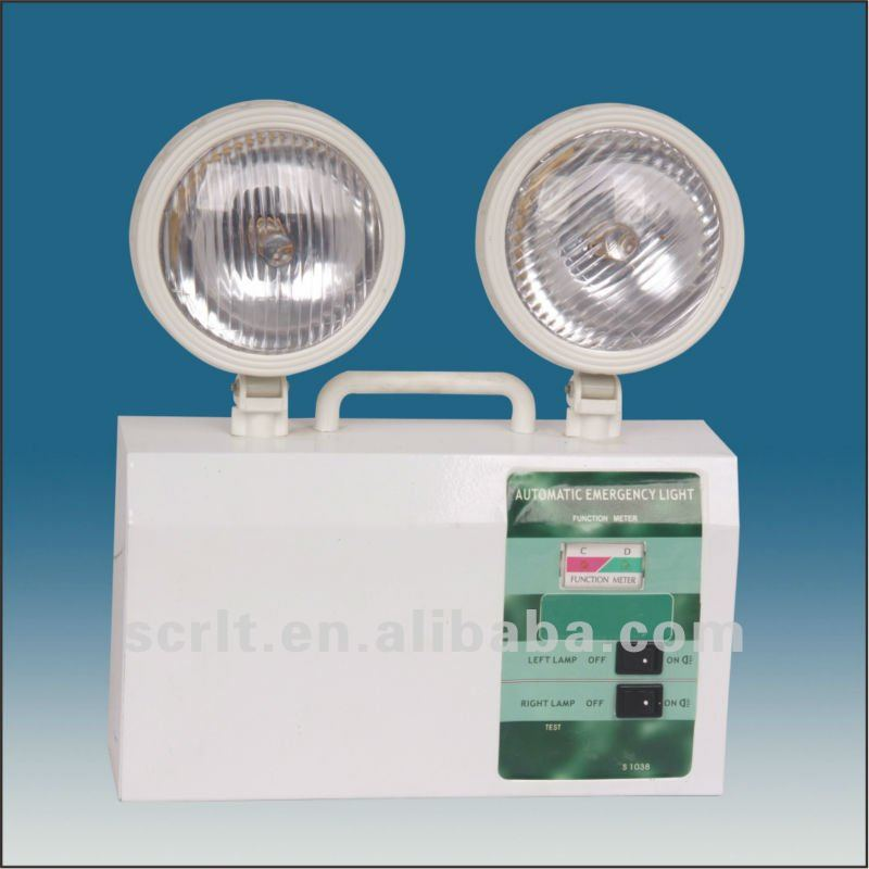 Sem304-a Two Head Fire Exit Rechargeable Emergency Lighting