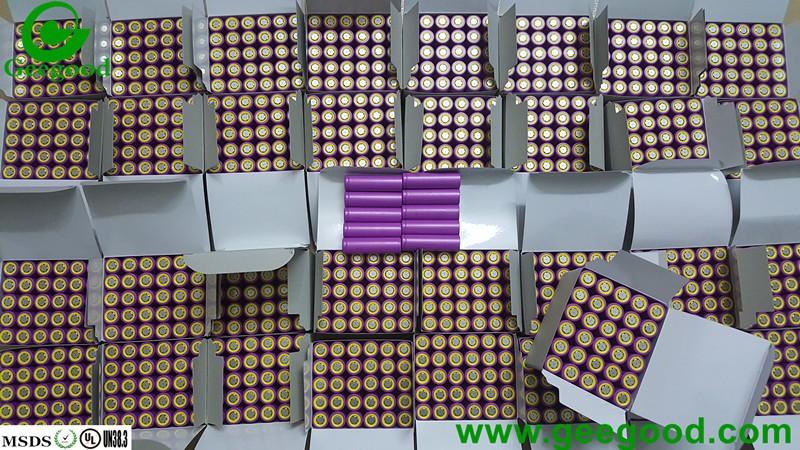 Original 18650ZTA 3000mAh 3.7V 18650 battery from China supplier Geegood