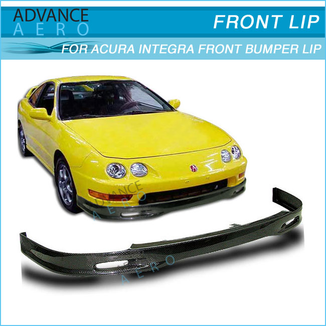 For 94 95 96 97 Acura Integra Spoon Style Cf Front Bumper Lip ...