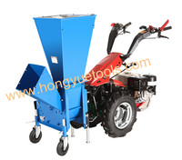 farming machine 13hp diesel engine wood chipper shredder for making wood chips