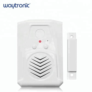 Battery Operated Loud Voice Warehouse Talking Door Bell Anti theft Magnetic Door Sensor Safety Alarm