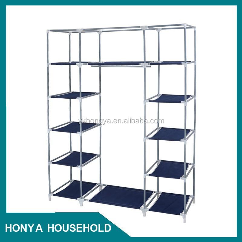 Doble color de gran volumen muebles de dormitorio armario con espejo ...