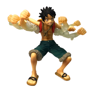 One Piece Luffy Cartoon Toy Hot Anime Figure Game Character PVC Collectible Figurine Custom OEM