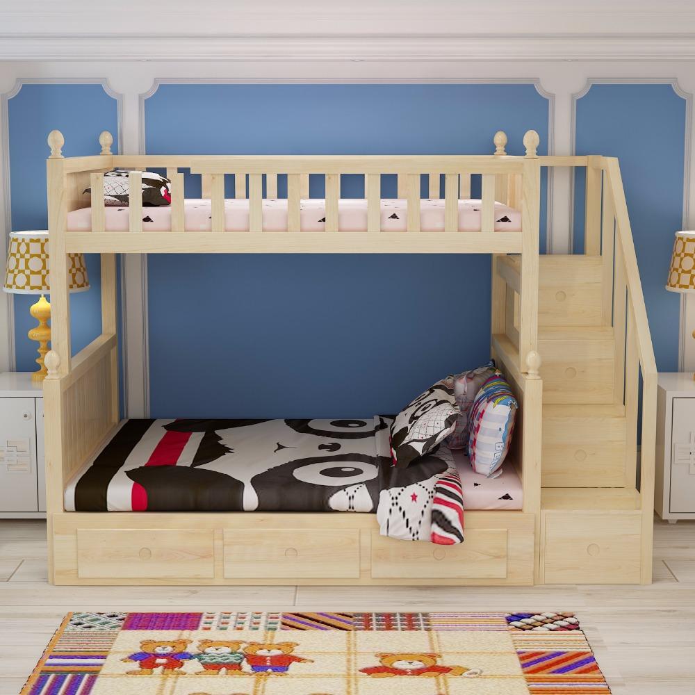 Venta al por mayor niños escaleras cama-Compre online los mejores ...