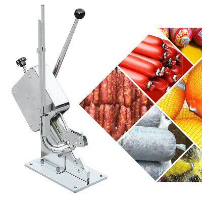 U clips sausage MANUAL clipper clipping machine for meat processing