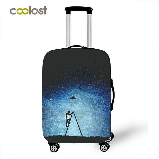 Galaxy / Universe 3D Protective Cover Apply to 18-28 inches Luggage Suitcase Suitcase Accessories