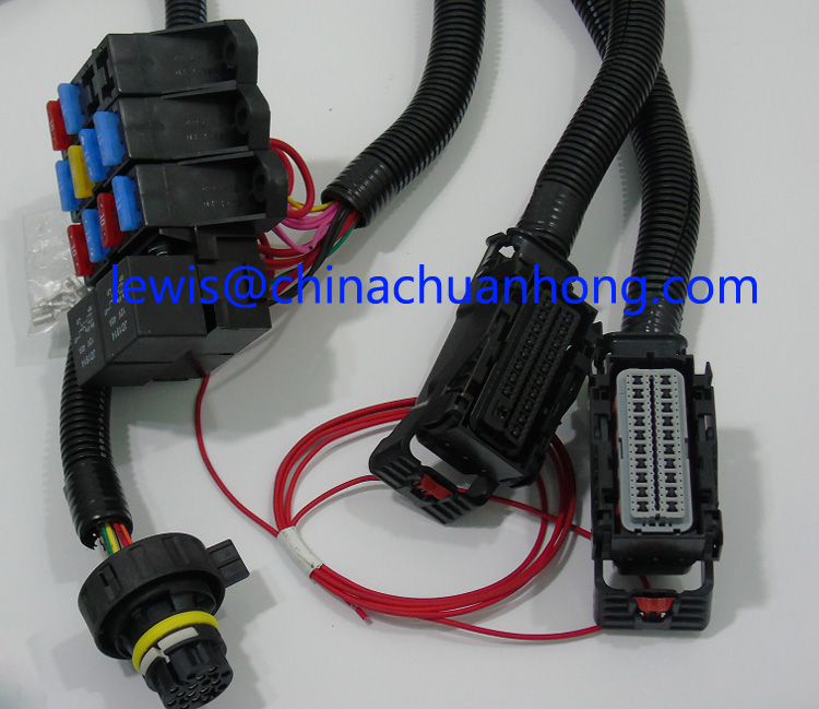 GM 09 UP LS2 LS3 LS7 Standalone Engine Wiring Harness W/out Transmission -  LSX VORTEC Wire Harness Factory, View LS2 Standalone Wiring Harness, CNCH