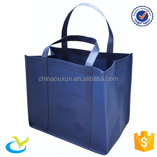 Manufacturer cheap <strong>eco</strong> friendly high quality grocery wholesale reuseable exhibition non-woven trade show shopping bag