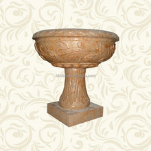 Classic Design Marble Sculpture Flower Pot for Garden