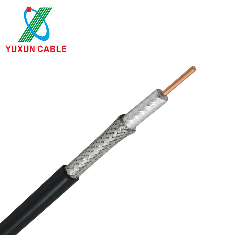 YUXUN RG6 Coaxial Cable For CATV CCTV Camera /Satellite TV