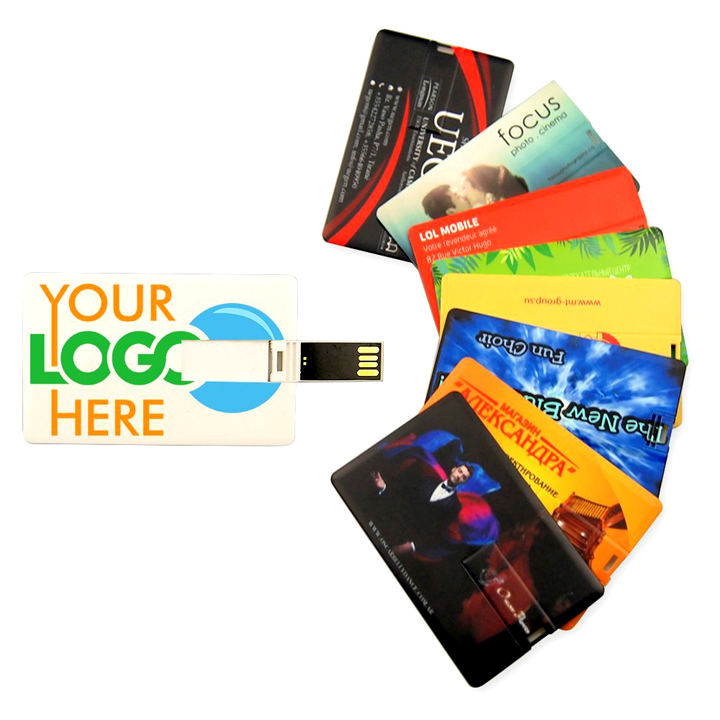 Factory Custom Credit Card Usb Flash Drive 1-64GB Promotional USB Business Card usb 8 gb