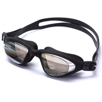 43411e455c7 Anti-fog UV protect swimming goggles with packaging case water-proof adult  swimming glasses