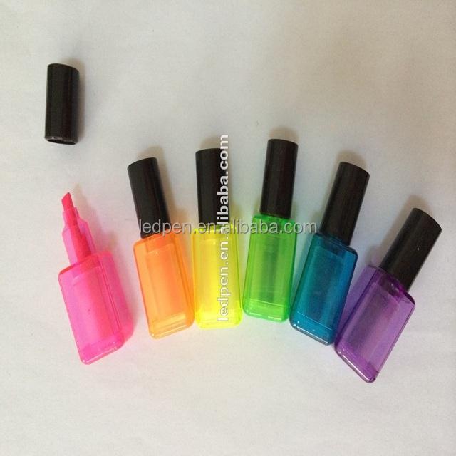 Hot Sell ! Highlighter Marker Shape Nail Polish Bottle - Buy ...