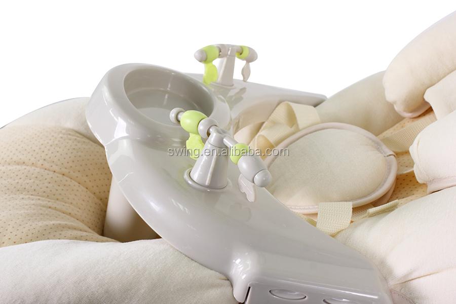 Hängenden elektrischen babyschaukel mit batterien oder lade baby