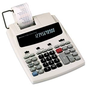 Innovera : 16000 Desktop Calculator, 12-Digit Fluorescent, Two-Color Printing, Black/Red -:- Sold as 2 Packs of - 1 - / - Total of 2 Each